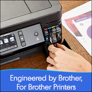 engineed by brother, for brother printers