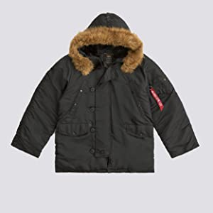 Alpha Industries Mens N-3B Parka Coat