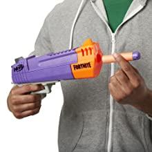 fornite; nerf fornite gun; nerf mega gun; hand cannon; mega darts; bullets; ammo; nerf HC-E gun