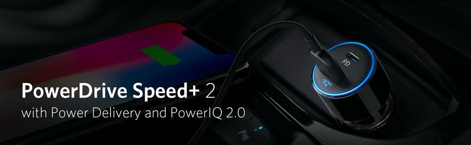 anker car charger speed+ 2