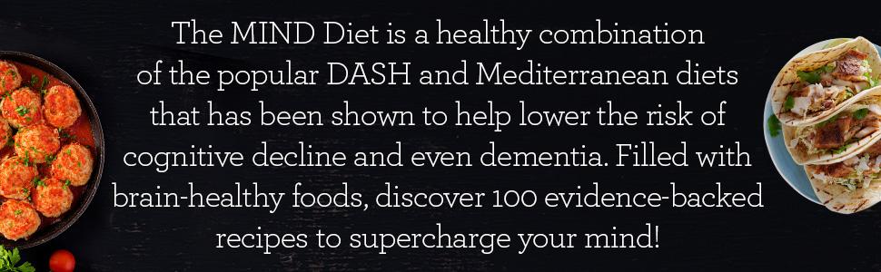 MIND Diet, MIND Diet cookbook, mind diet book, mind diet recipes, dash diet