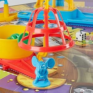 mousetrap board game, boardgame, hasbro gaming