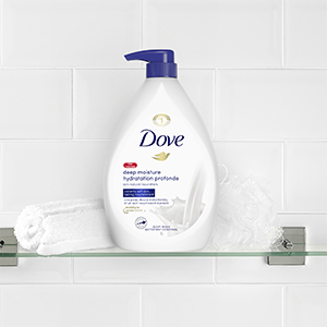 With a fresh fragrance, Dove Deep Moisture Body Wash delivers smoother skin after just one shower.