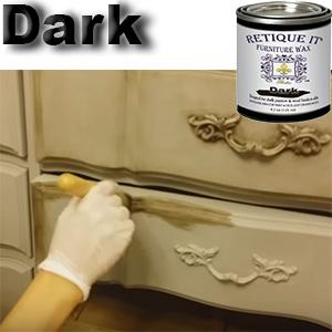 Dark Wax, Antiquing Wax