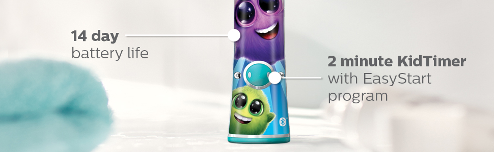 Sonicare for kids 14 day battery life