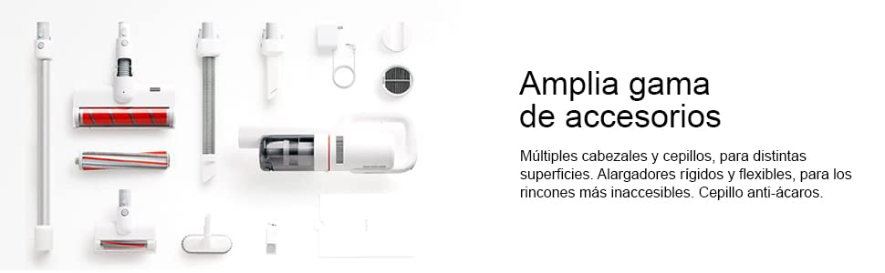 Xiaomi roidmi f8 Aspirador Escoba Inteligente, inalámbrico, Blanco ...
