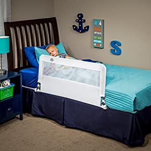 Amazon Regalo Hide Away Bed Rail Childrens Safety