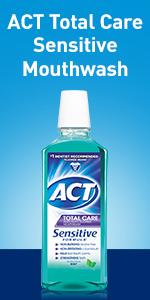 Mouthwash for sensitive teeth.