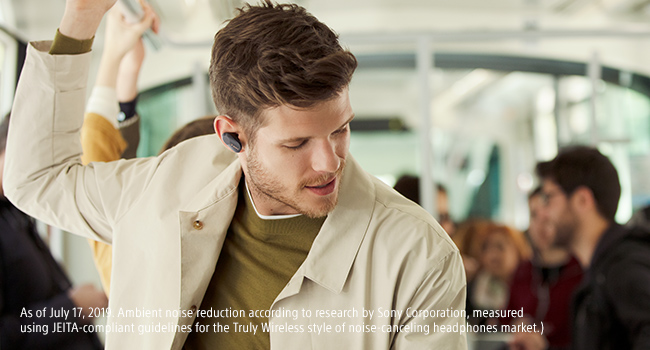 Industry-leading Digital Noise Cancellation