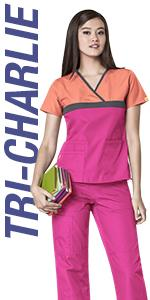 3cf63356d5f Amazon.com: WonderWink Women's Scrubs Quebec Full Elastic Cargo Pant ...
