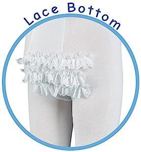 baby girls rhumba lace tights