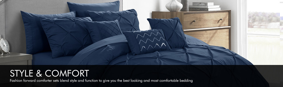 Hannah Comforter Set by Luxury Bedding