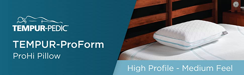 Tempur ProForm ProHi Pillow