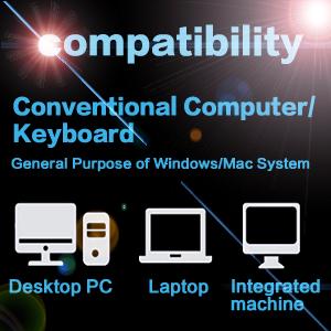 Koolertron One Handed Macro Mechanical Keyboard, Portable Mini One