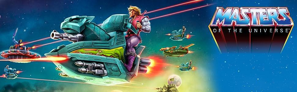 Masters of the Universe Origins Veicolo Skysled per un gioco ispirato a MOTU,
