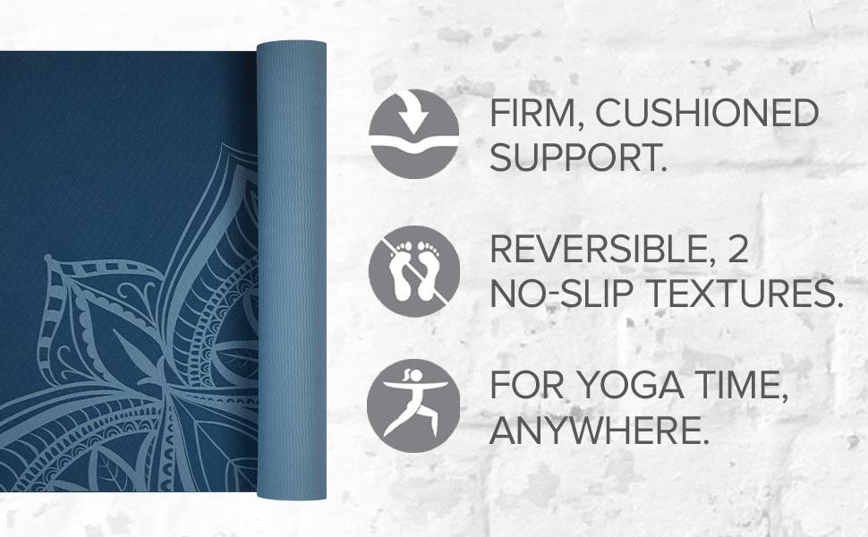 Gaiam TPE Performance Yoga Mats