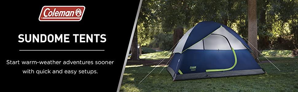 Coleman SPF50 Protection 255cm Deep Sundome Shelter