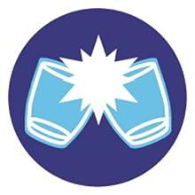 Duralex impact resistant logo
