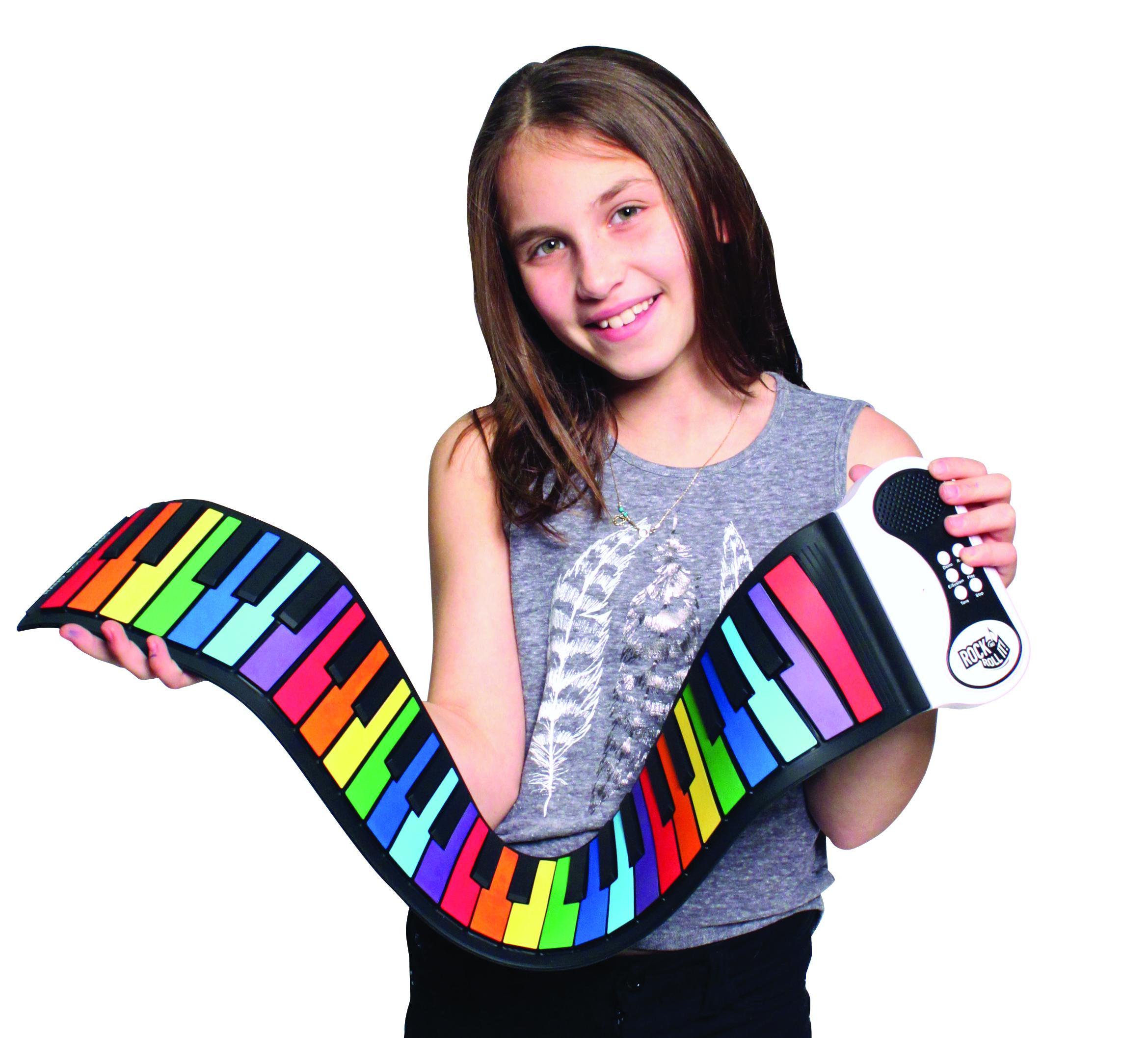 Amazon Com Rock And Roll It Rainbow Piano Flexible