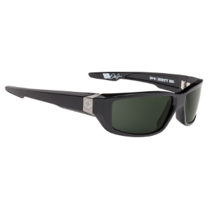Amazon.com: Spy Optic Dirty Mo Matte Black Wrap Sunglasses ...