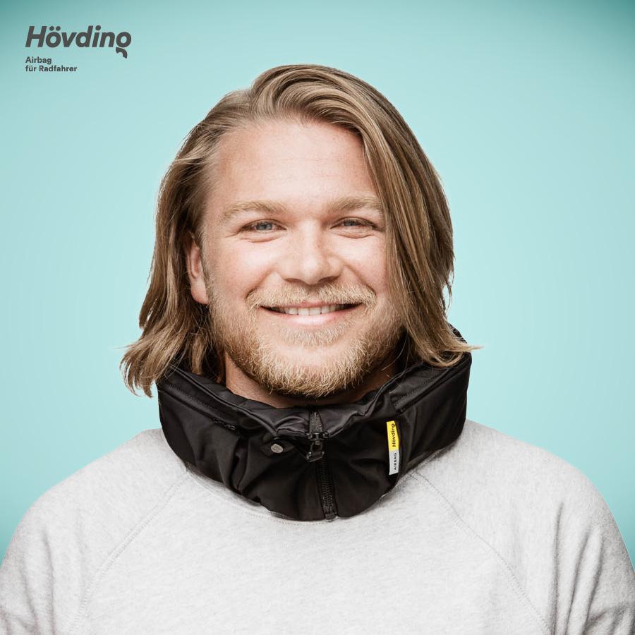 Schal Hövding 2.0 Airbag Helm large inkl