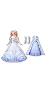 Elsa's Transformation Fashion Doll