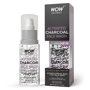 WOW Skin Science Activated Charcoal Face Wash