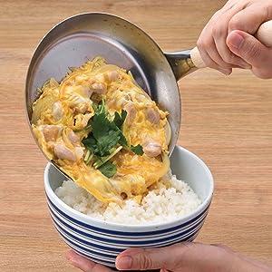 親子丼 カツ丼 かつ丼 本格 職人 プロ 道具 玉子とじ 卵とじ 調理器具
