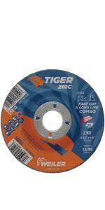 Tiger Zirc Combo Wheels