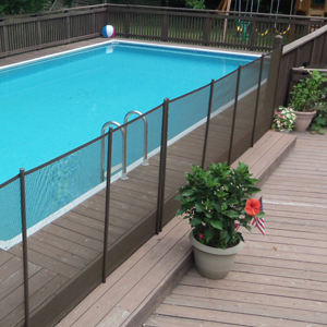Amazon.com: Sentry Safety DIY Pool Fence by EZ-Guard 4\' 12\' Long ...