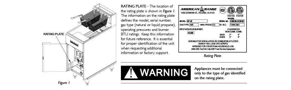 American Range AF35-50 NG Heavy Duty Restaurant Fryer, Natural Gas