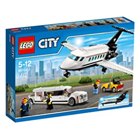 Amazoncom Lego City Airport Vip Service 60102 Building Toy Toys