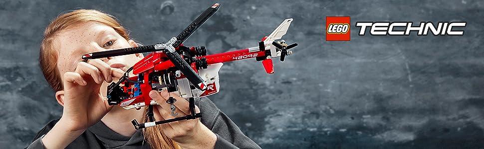 rescatar-helicóptero-ambulancia-camilla-futurista-prototipo-avión-lego-technic-42092-avanzado