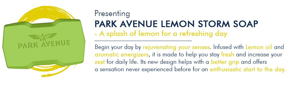 Park Avenue Lemon Storm Soap