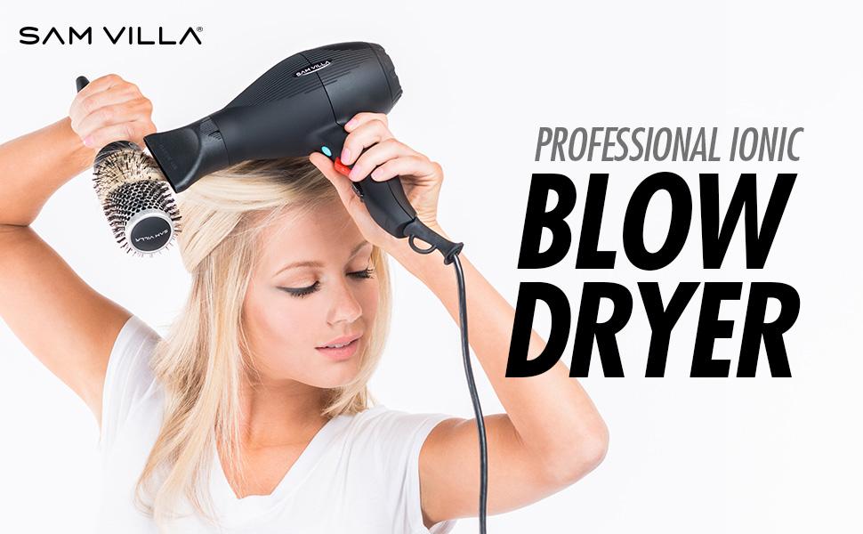 SV, Sam, Villa, Professional Ionic Blow Dryer, Blow, Dryer, Ionic
