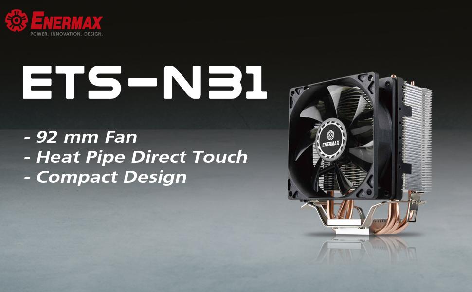 Enermax N31 Power Cpu Cooler Computers Accessories