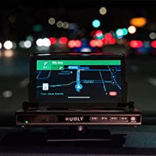 Hudly Wireless head-up display HUD shows sharp crisp images day and night