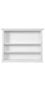 bookcase, storage, evolur, dream on me, parker
