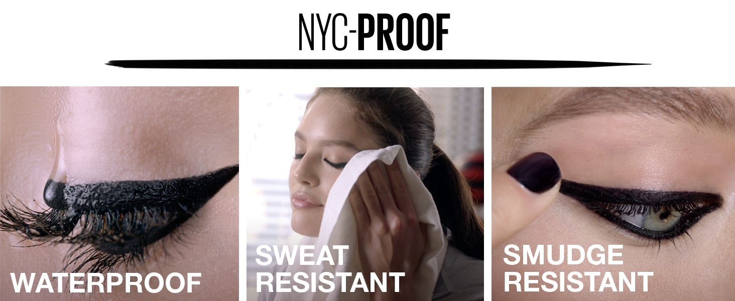 waterproof eye liner, gel pencil, sweat resistant, smudge resistant liner, tattoo studio