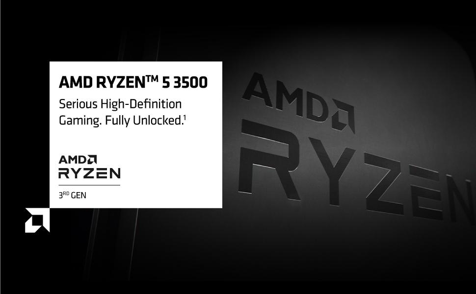 AMD Ryzen 5 3500 processor ryzen processor motherboard gaming processor AMD Ryzen processor