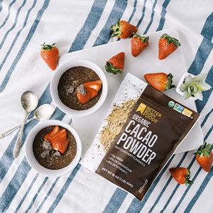 organic cacao powder betterbody foods chocolate dessert