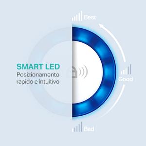 smart LED, TP-Link, range extender, estensione segnale, wireless, connessione, wi-fi