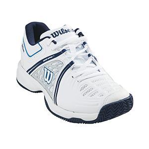 Womens Tour Vision V W Tennis Shoes, White/Pearl Blue/Astral Aura, Size 7.5 (EU 41) Wilson