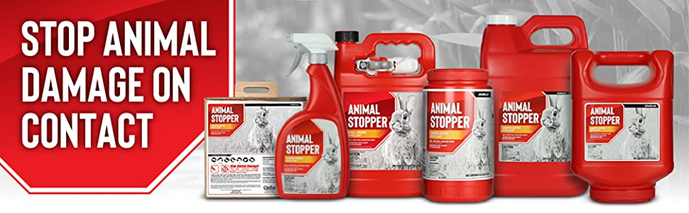 Animal Stoppers Stops Animal Damage on Contact