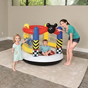 Castillo Hinchable Bestway Mickey and the Roadster Racers Boppin ...