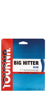 big hitter blue tennis string