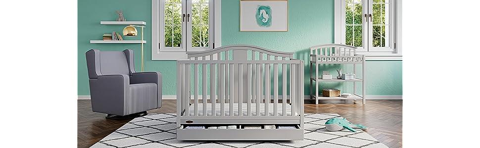 Graco Lauren 4 In 1 Convertible Crib 04530 366