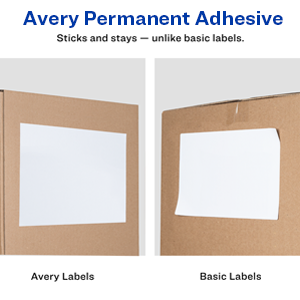 Avery Labels won't fall off.