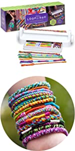 easy to use friendship bracelet maker craft for kids easy craft for kids ages 6 7 8 9 10 11 12 teen
