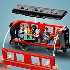 LEGO Harry Potter Hogwarts Express 75955 Building Kit (801 Pieces)